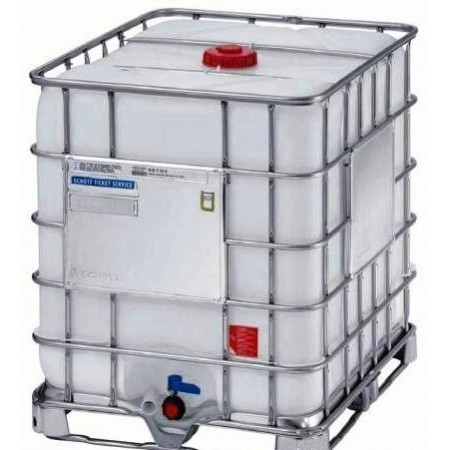 Contenedor deposito 1000 litros reforzado nuevo for Estanques de agua 5000 litros precios