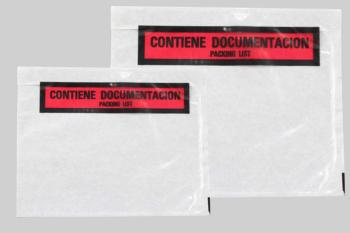 1.000 SOBRES CONTIENE DOCUMENTOS 180 x 140 PACKING LIST